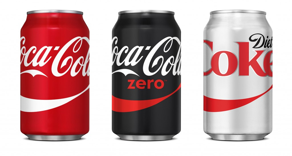range of Coca Cola cans showing great looking packaging and Why your product's packaging is just as important as the product