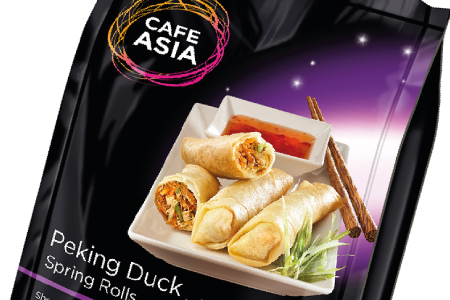 Project – Café Asia Spring Rolls