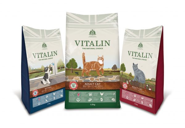Project – Vitalin Cat Food