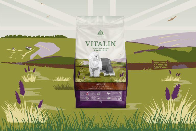 Vitalin Dog Food