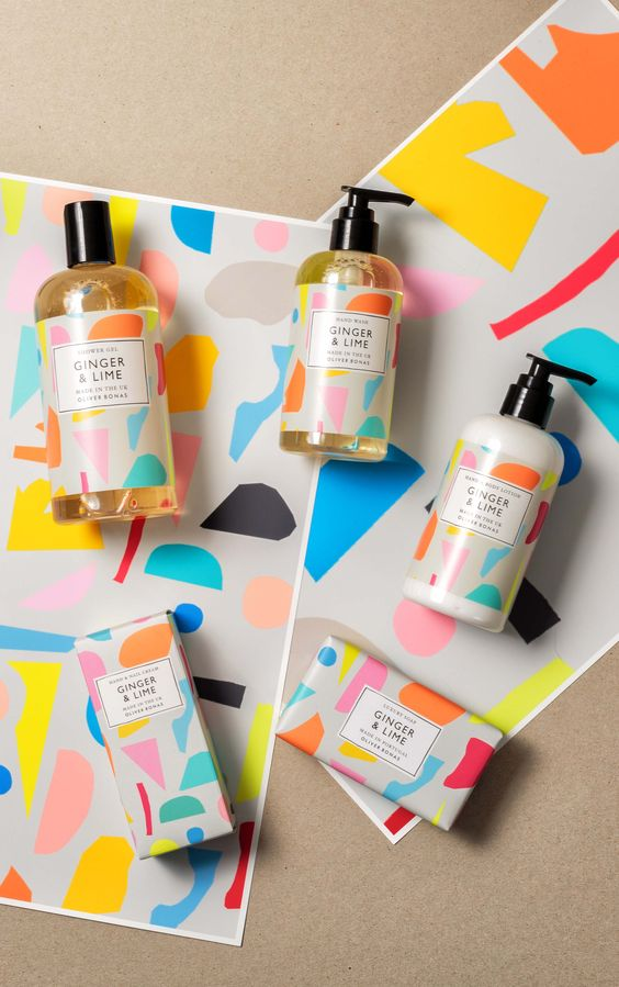 Packaging Design Trends 2017 Abstract Mixed Media 7