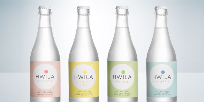 Global Packaging Design hwila Mineral Water