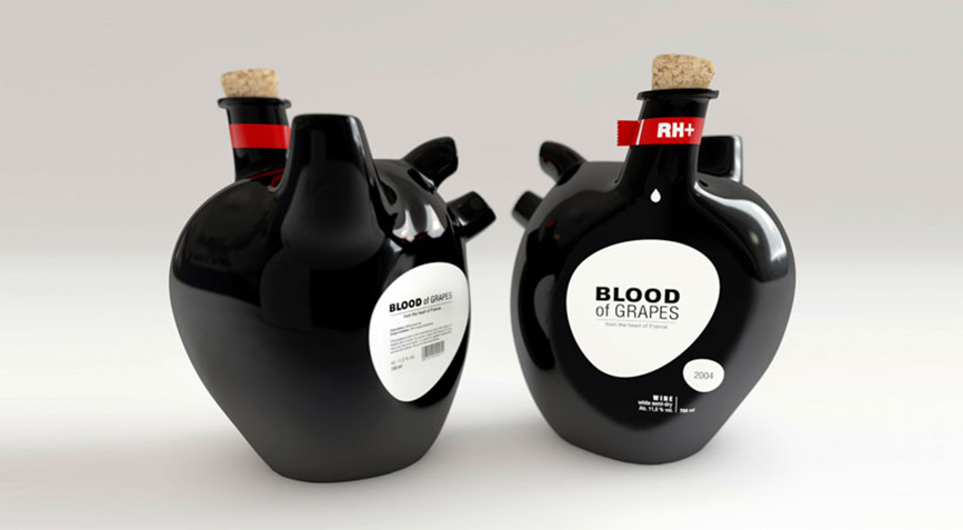 Blood of Grapes Wine 17 Awesome Examples of Food Packaging Design