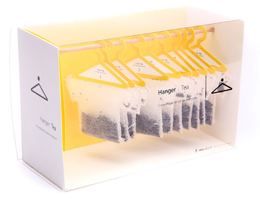 Hanger Tea 17 Awesome Examples of Food Packaging Design