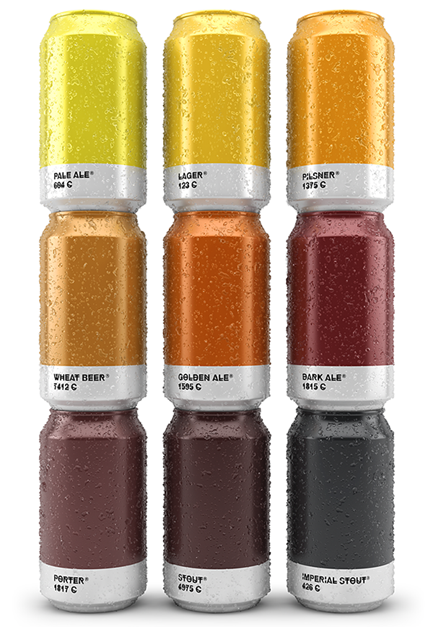 Pantone Beer 17 Awesome Examples of Food Packaging Design