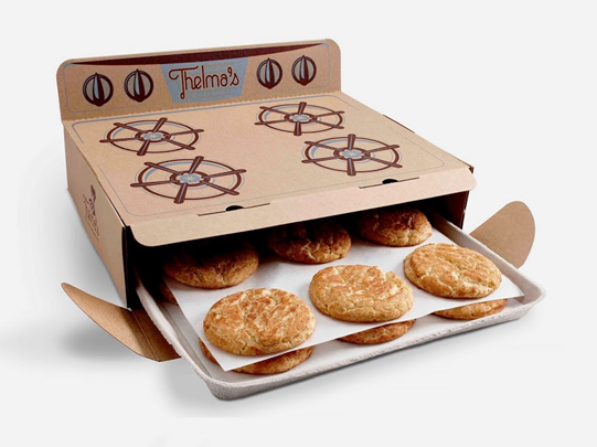 Thelma's Cookies 17 Awesome Examples of Food Packaging Design