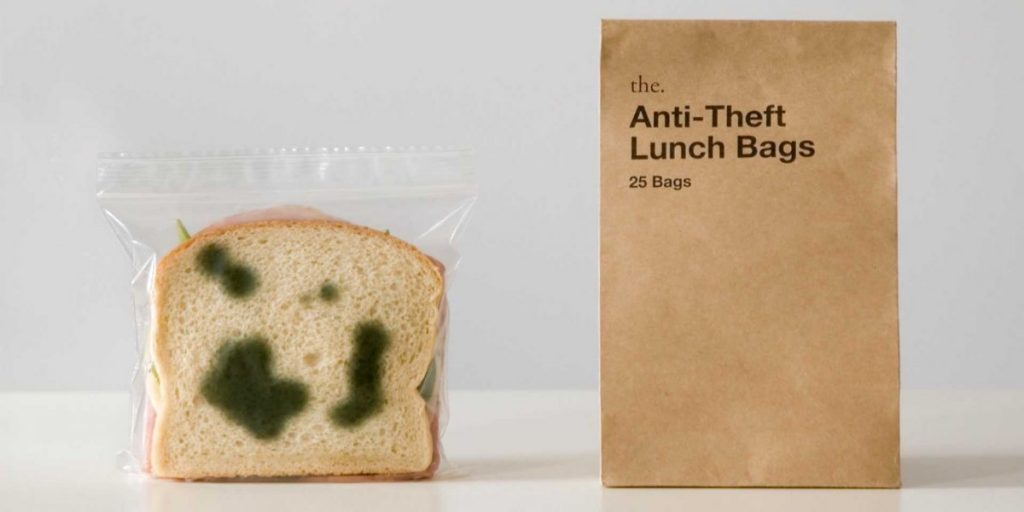 Anti Theft Lunch Bags Product Packaging Design