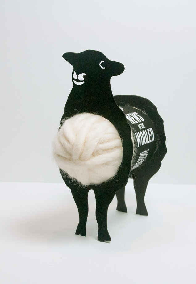 Wooly The Sheep Packaging Design