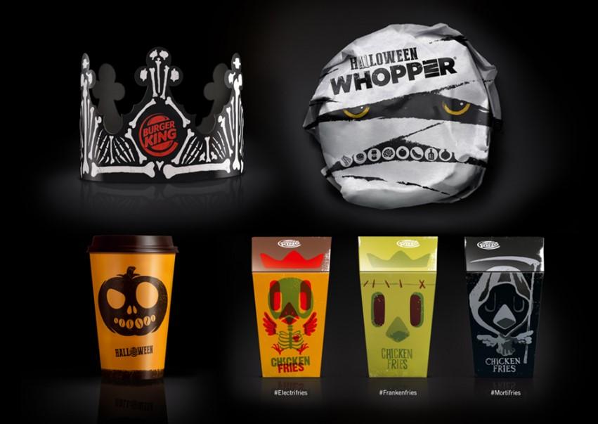 Burger King Halloween Packaging Design
