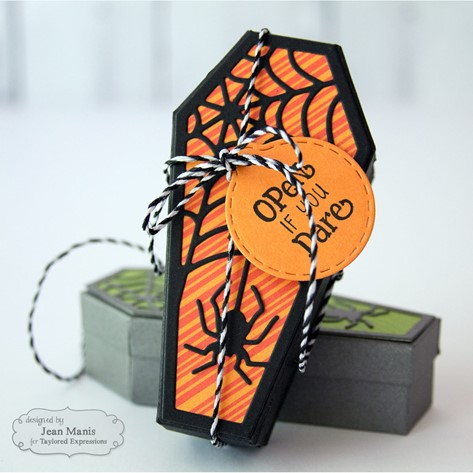 Coffin Creeps Halloween Packaging Design