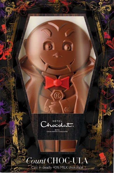 Count Chocula Halloween Packaging Design