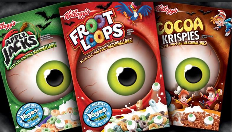 Froot Loops Halloween Packaging Design