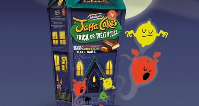 Jaffa Cakes Halloween Packaging Design