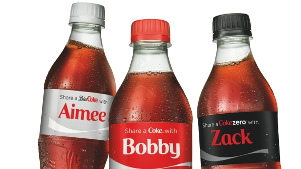 Share a Coke Personalised Packaging DCP