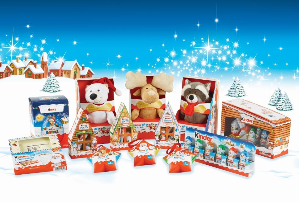 Kinder Christmas Packaging Design DCP