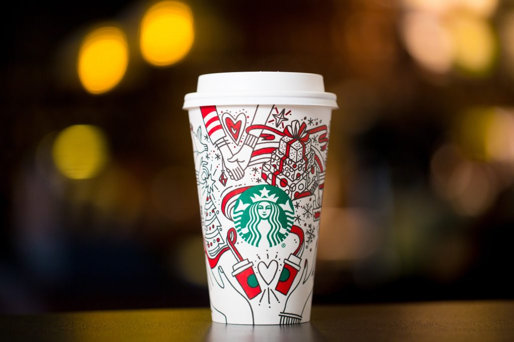 Starbucks Christmas Packaging Design DCP