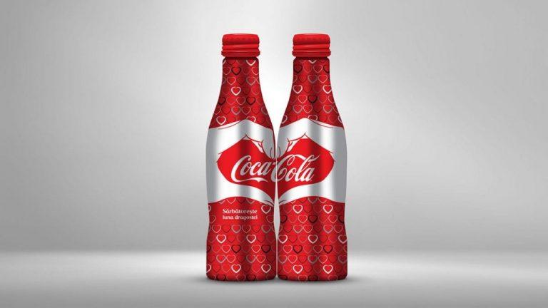 Coca Cola - Valentine's Day Packaging Design