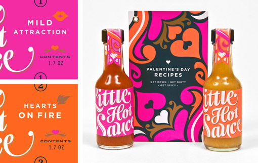 Hot Sauce - Valentine's Day Packaging Design