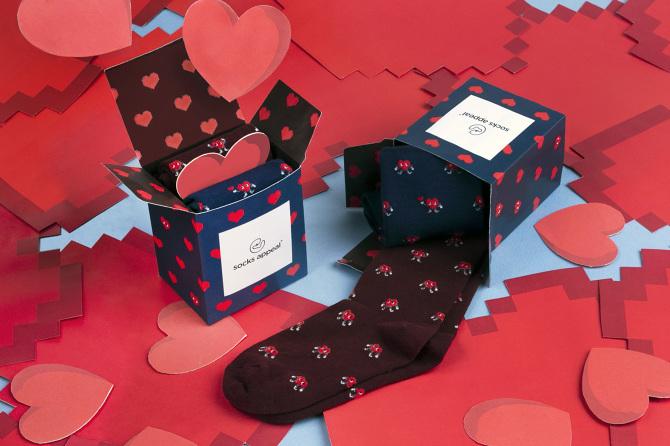 Socks Appeal - Valentine's Day Packaging Design
