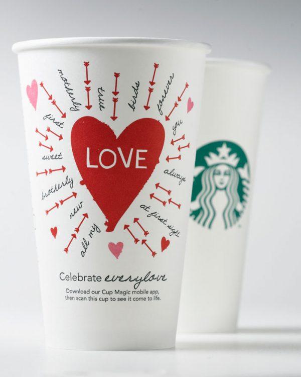 Starbucks - Valentine's Day Packaging Design