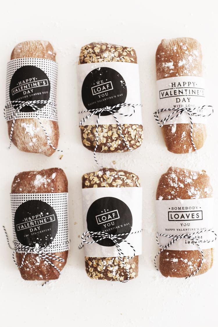 Valentine's Day Packaging Design - We Loaf You
