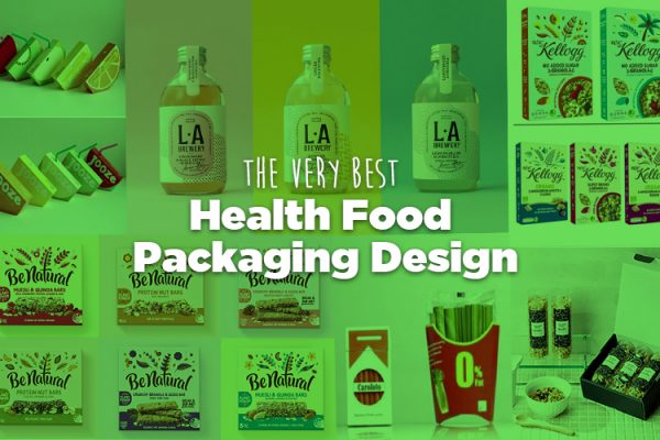 Health Food Packaging Design DCP