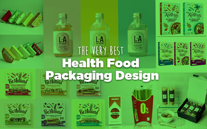 Health Food Packaging Design DCP