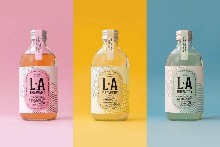 Health Food Packaging Design La Brewery