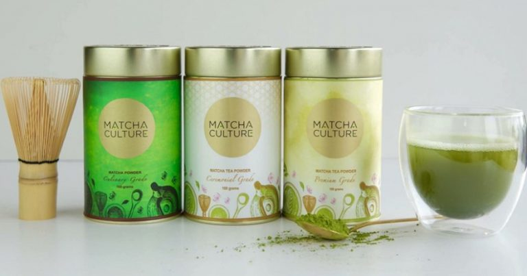 Health Food Packaging Design Matcha Culture