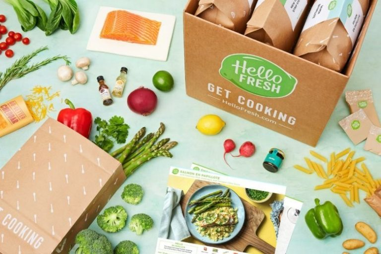 Product Unboxing Experiences Hello Fresh DCP