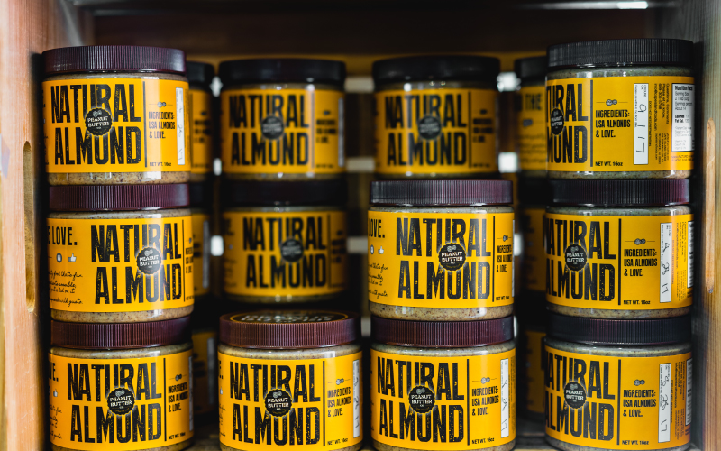 Health Food Marketing Terms Natural Almond